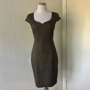 •H&M• Houndstooth Career Dress